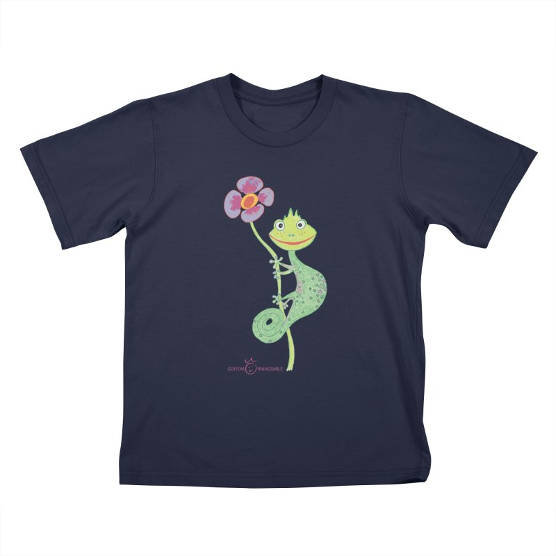 Chameleon Smile Kids T-Shirt by Good Morning Smile