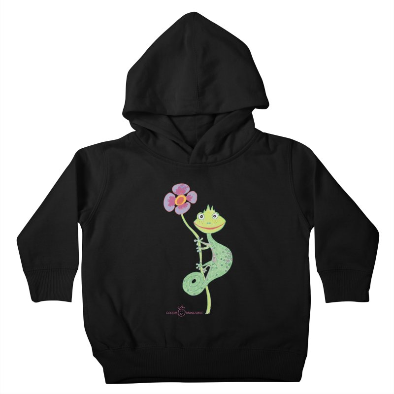 Chameleon Smile Kids Toddler Pullover Hoody by Good Morning Smile