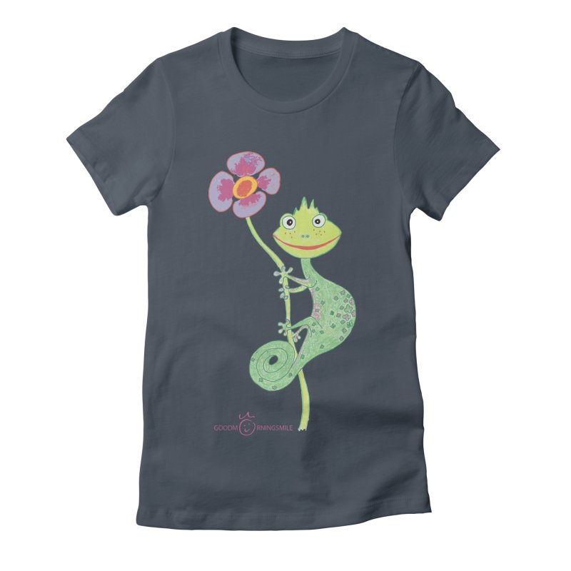 Chameleon Smile Women's T-Shirt by Good Morning Smile