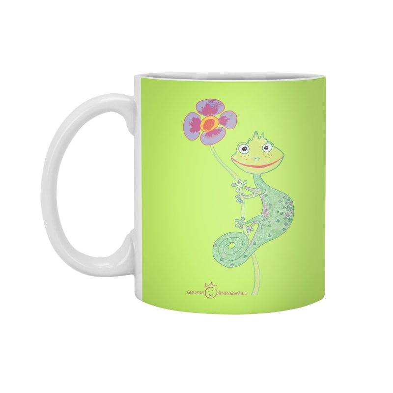 Chameleon Smile Accessories Standard Mug by Good Morning Smile