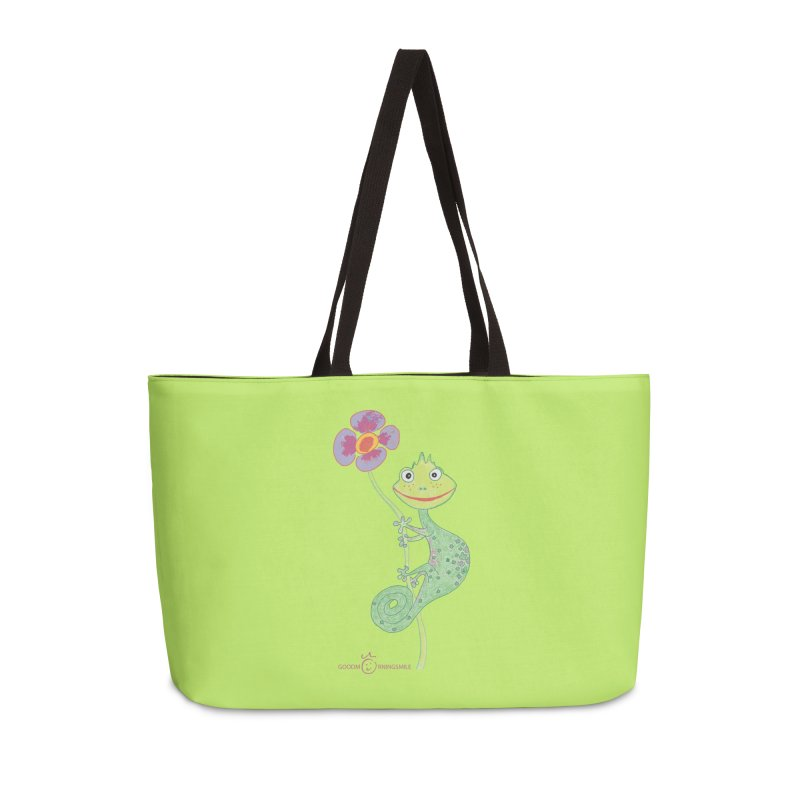 Chameleon Smile Accessories Bag by Good Morning Smile