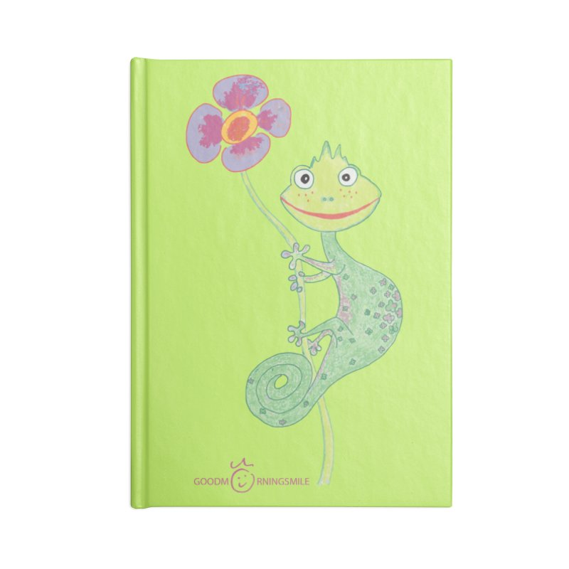Chameleon Smile Accessories Blank Journal Notebook by Good Morning Smile