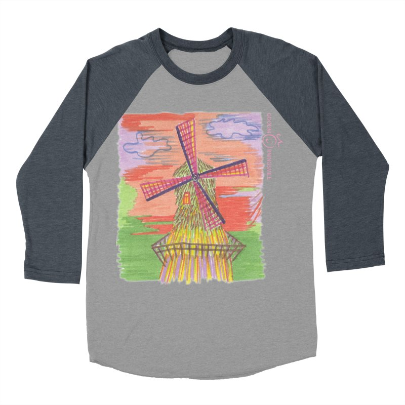 Amsterdam Women's Longsleeve T-Shirt by Good Morning Smile