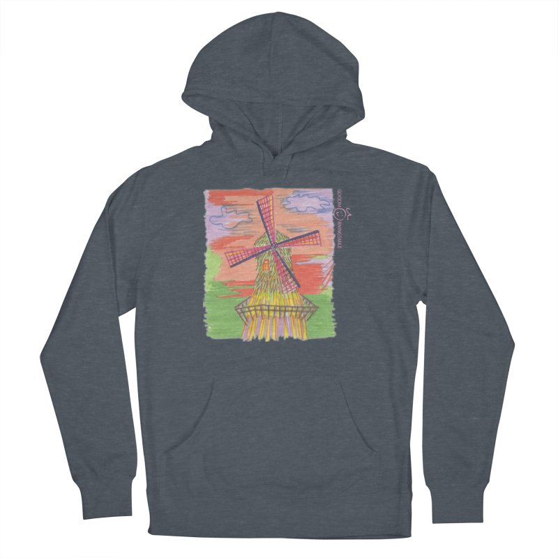 Amsterdam Women's French Terry Pullover Hoody by Good Morning Smile