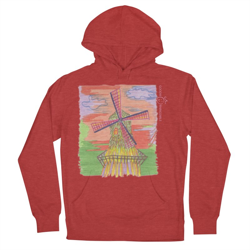 Amsterdam Men's French Terry Pullover Hoody by Good Morning Smile