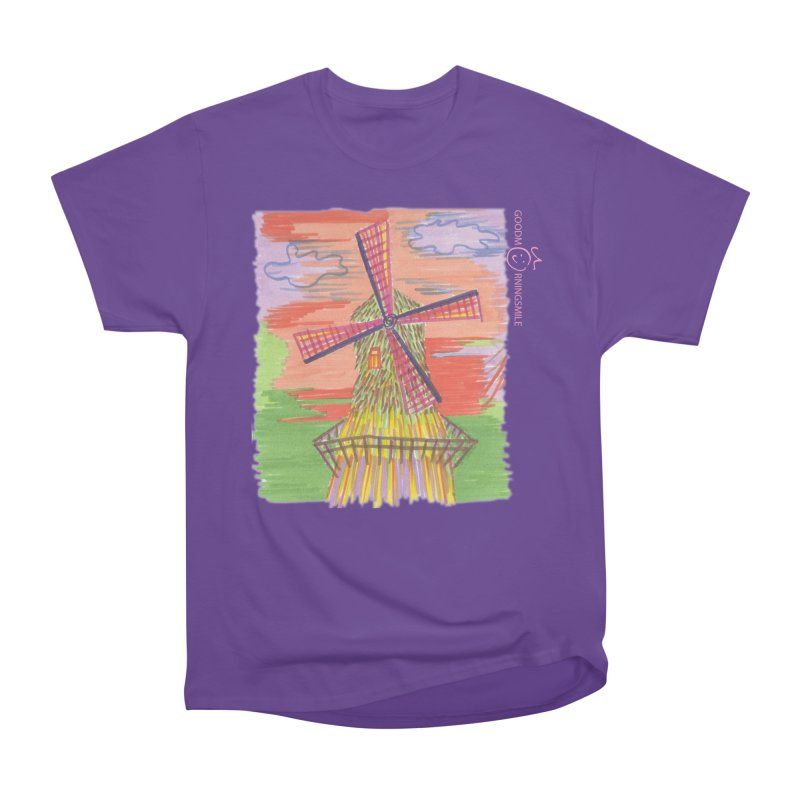 Amsterdam Men's Heavyweight T-Shirt by Good Morning Smile