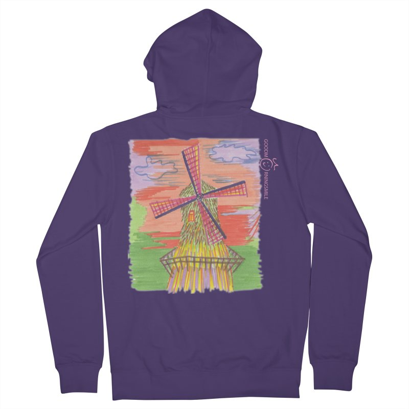 Amsterdam Women's French Terry Zip-Up Hoody by Good Morning Smile