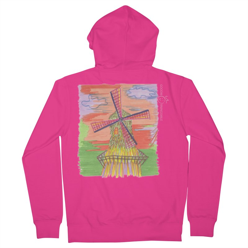 Amsterdam Men's French Terry Zip-Up Hoody by Good Morning Smile