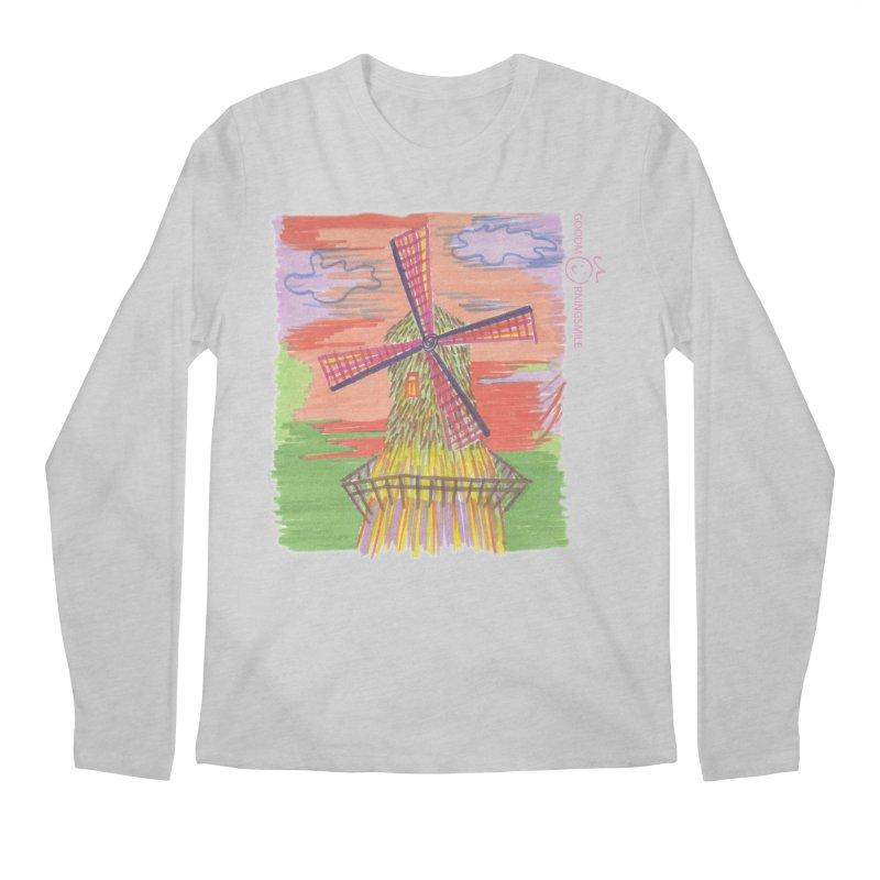 Amsterdam Men's Regular Longsleeve T-Shirt by Good Morning Smile