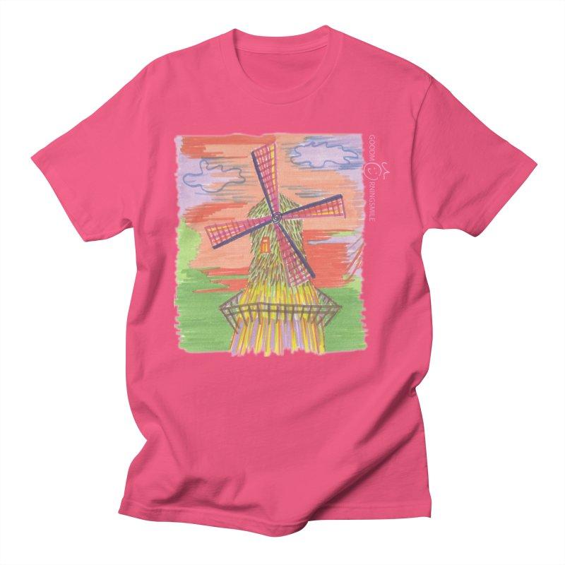 Amsterdam Women's Regular Unisex T-Shirt by Good Morning Smile
