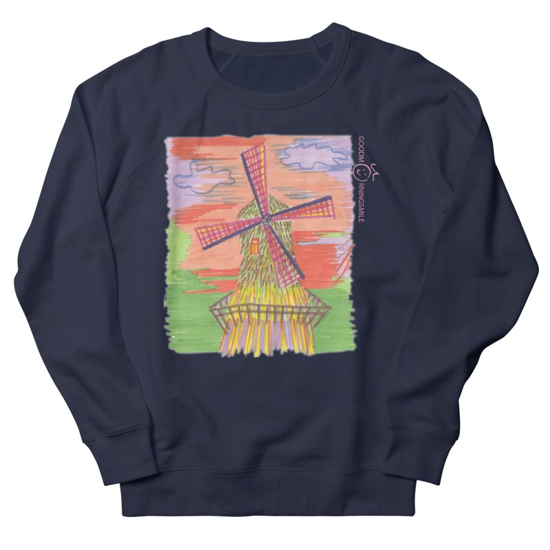 Amsterdam Men's French Terry Sweatshirt by Good Morning Smile