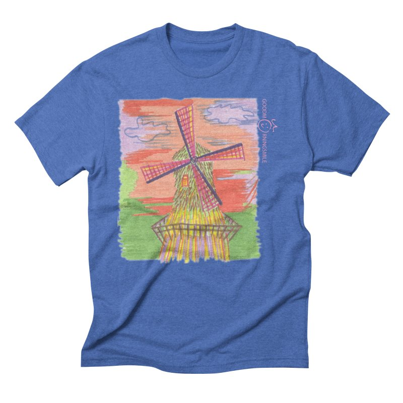 Amsterdam Men's Triblend T-Shirt by Good Morning Smile