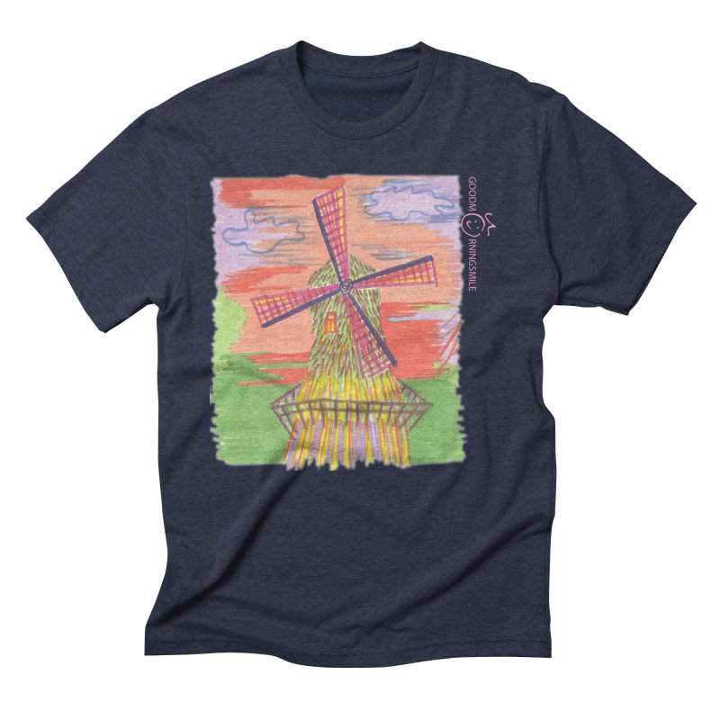 Amsterdam Men's Triblend T-Shirt by Good Morning Smile