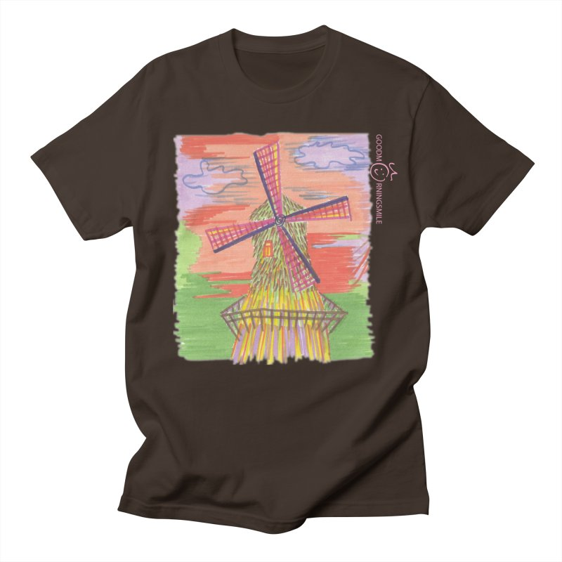 Amsterdam Men's Regular T-Shirt by Good Morning Smile