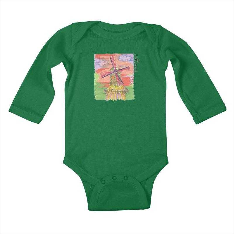 Amsterdam Kids Baby Longsleeve Bodysuit by Good Morning Smile
