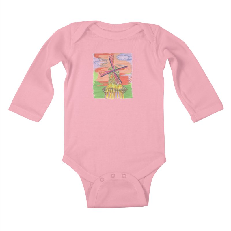 Amsterdam Kids Baby Longsleeve Bodysuit by Good Morning Smile