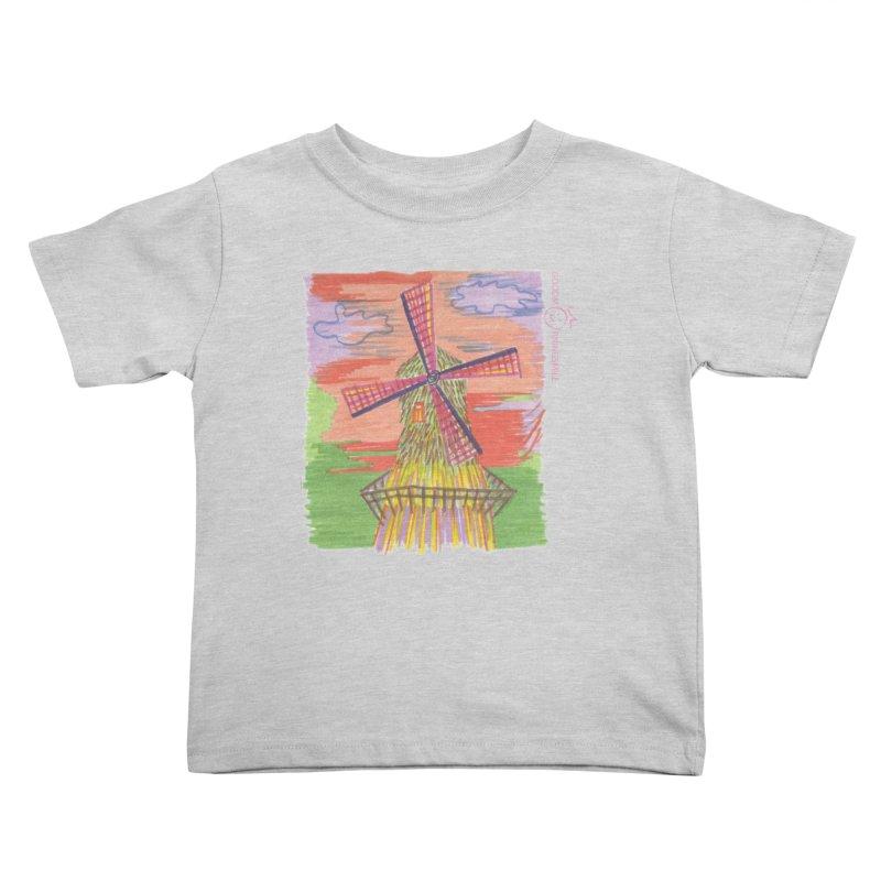 Amsterdam Kids Toddler T-Shirt by Good Morning Smile