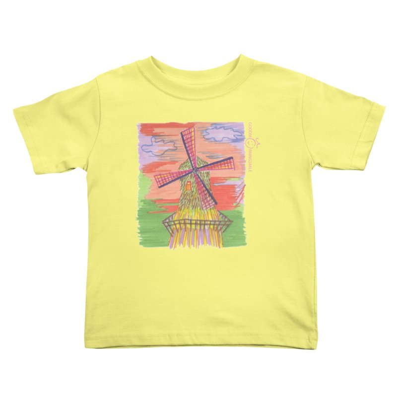 Amsterdam Kids Toddler T-Shirt by Good Morning Smile