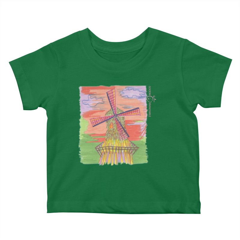 Amsterdam Kids Baby T-Shirt by Good Morning Smile