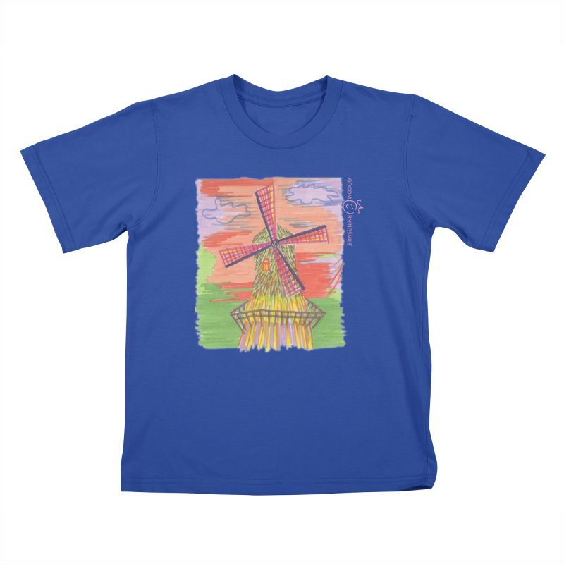 Amsterdam Kids T-Shirt by Good Morning Smile
