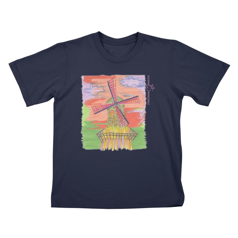 Amsterdam Kids T-Shirt by Good Morning Smile