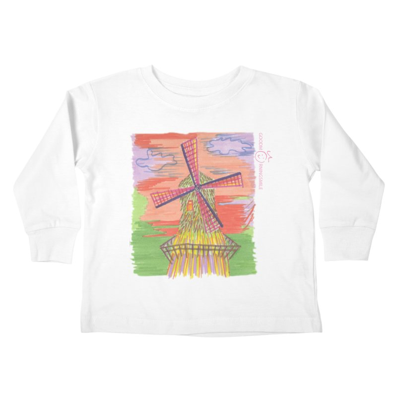 Amsterdam Kids Toddler Longsleeve T-Shirt by Good Morning Smile