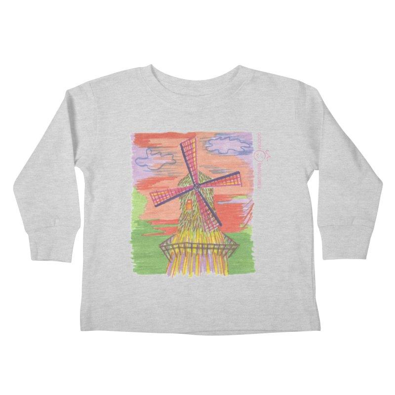 Amsterdam Kids Toddler Longsleeve T-Shirt by Good Morning Smile