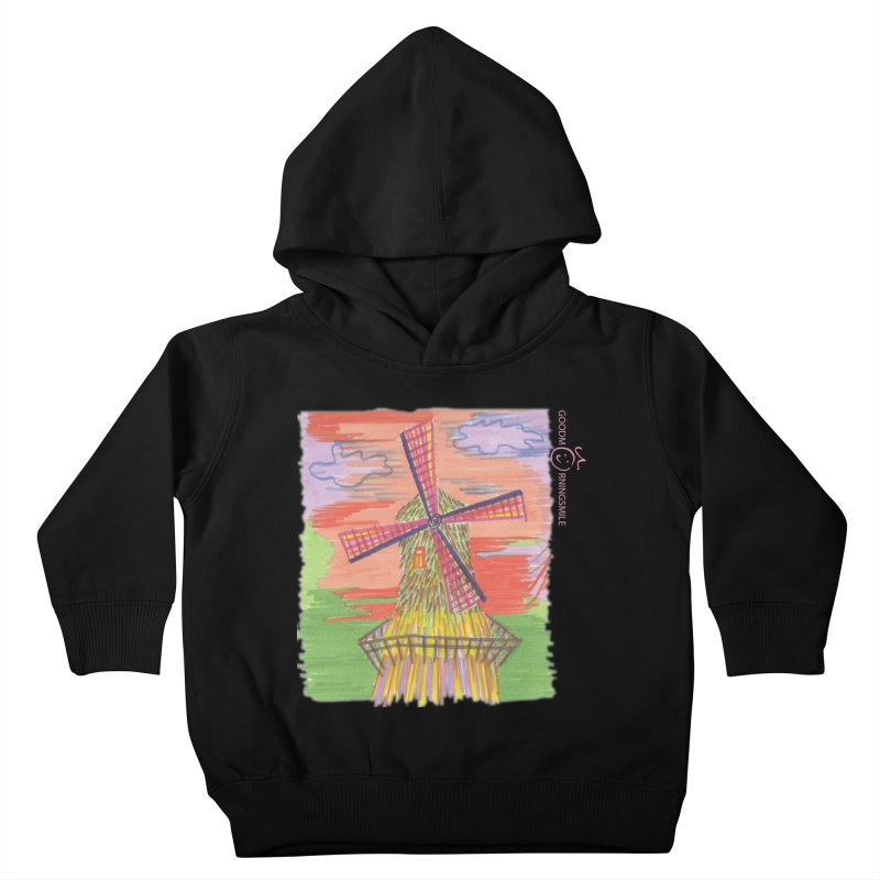 Amsterdam Kids Toddler Pullover Hoody by Good Morning Smile