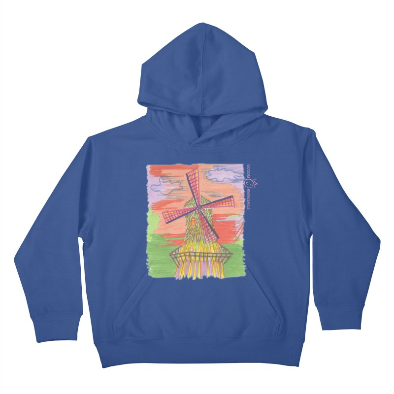 Amsterdam Kids Pullover Hoody by Good Morning Smile