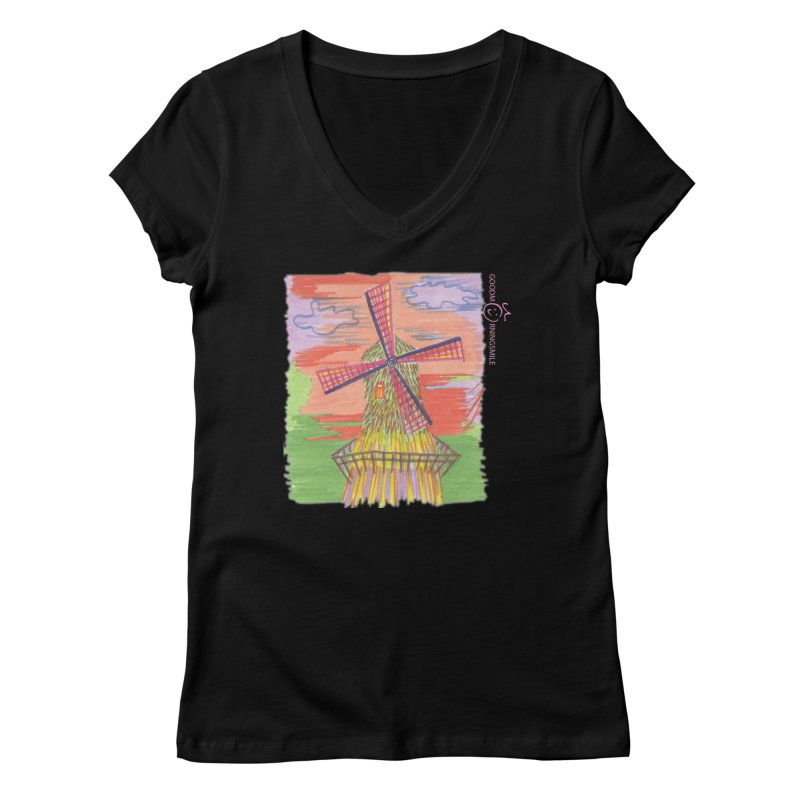 Amsterdam Women's V-Neck by Good Morning Smile