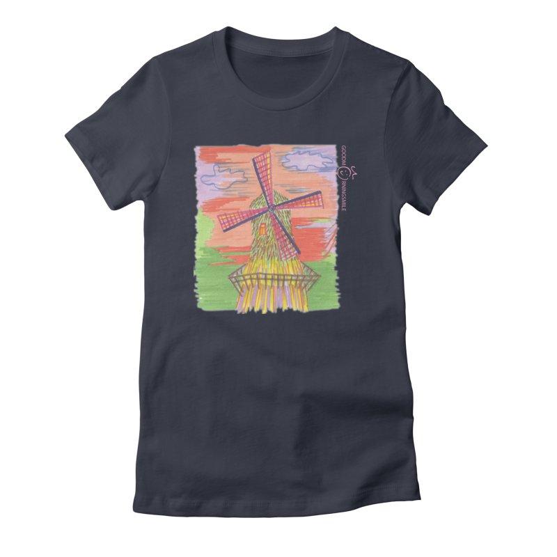 Amsterdam Women's T-Shirt by Good Morning Smile