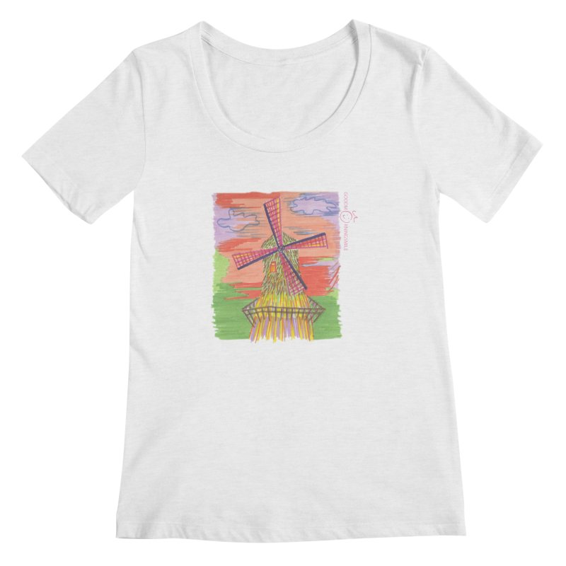 Amsterdam Women's Scoop Neck by Good Morning Smile