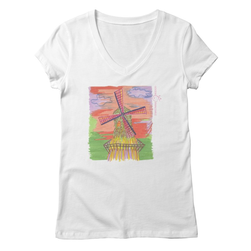 Amsterdam Women's Regular V-Neck by Good Morning Smile