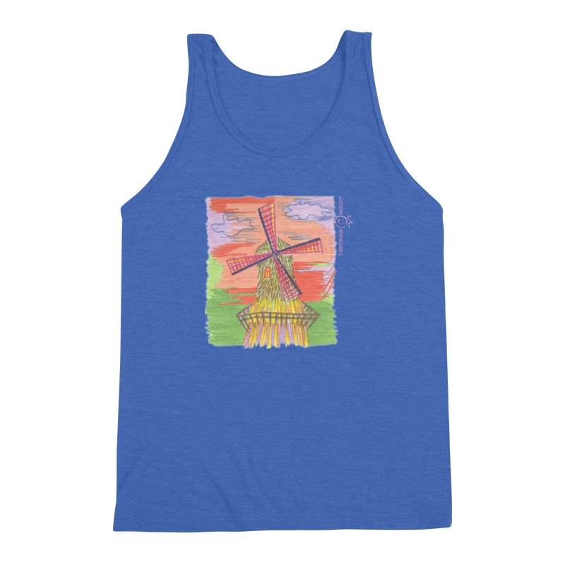 Amsterdam Men's Triblend Tank by Good Morning Smile