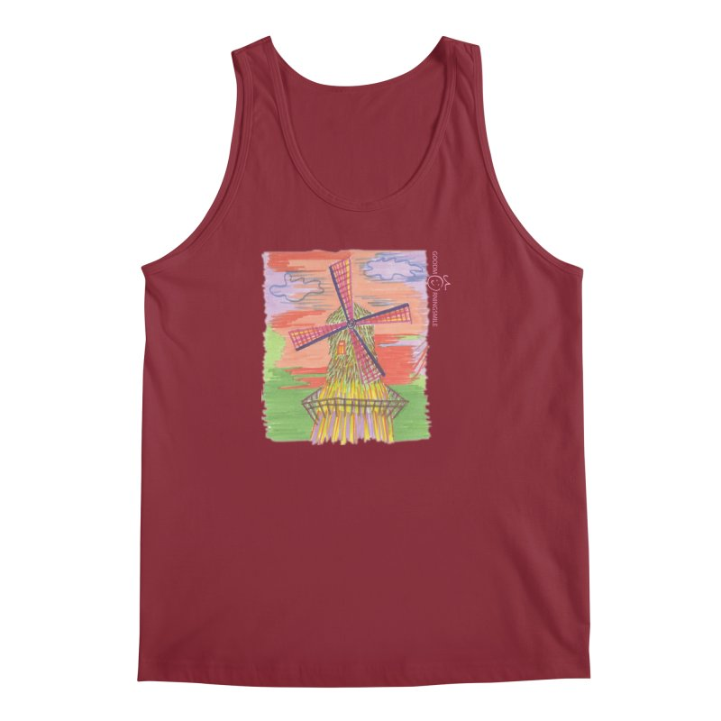 Amsterdam Men's Tank by Good Morning Smile