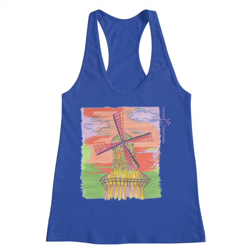 Amsterdam Women's Tank by Good Morning Smile