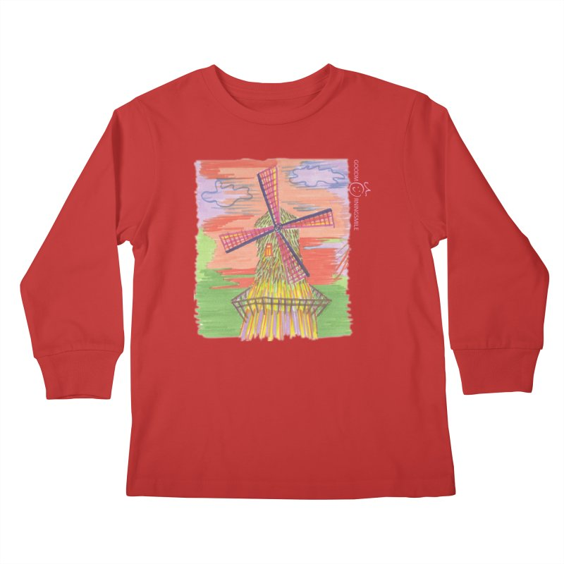 Amsterdam Kids Longsleeve T-Shirt by Good Morning Smile