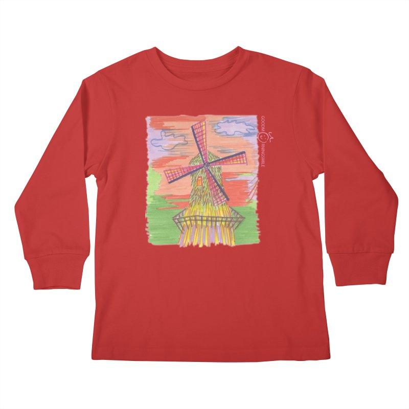 Amsterdam Kids Longsleeve T-Shirt by Good Morning Smile
