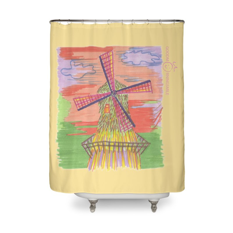 Amsterdam Home Shower Curtain by Good Morning Smile