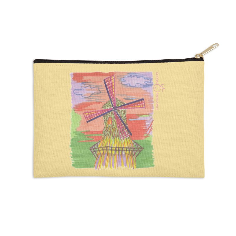 Amsterdam Accessories Zip Pouch by Good Morning Smile