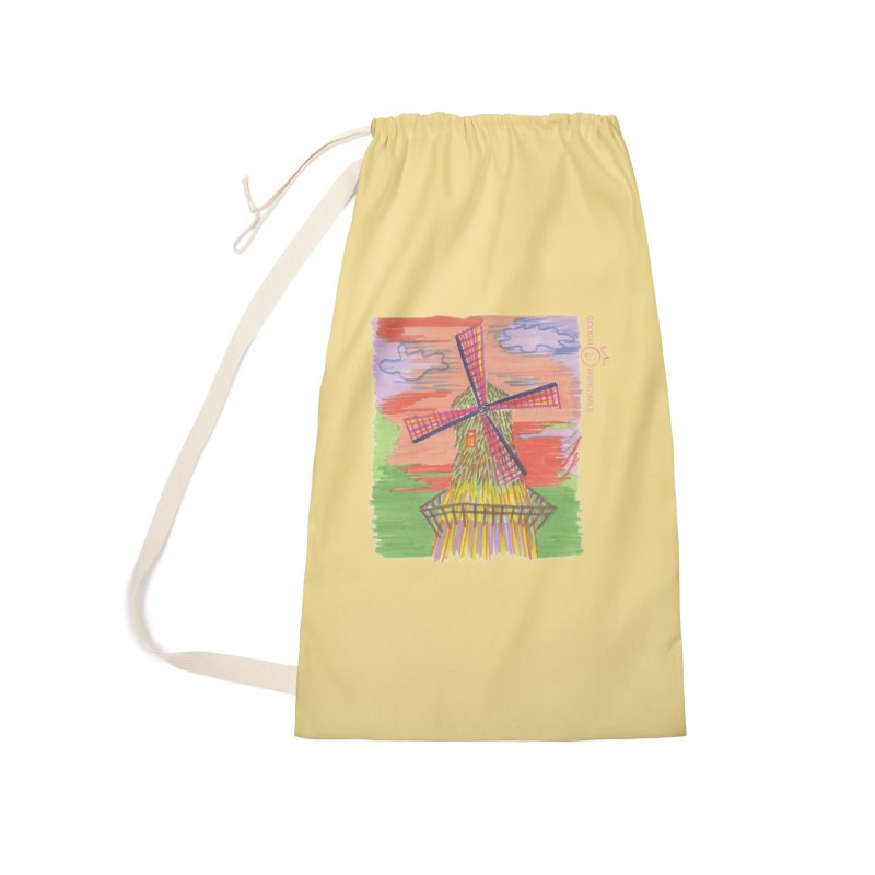 Amsterdam Accessories Laundry Bag Bag by Good Morning Smile