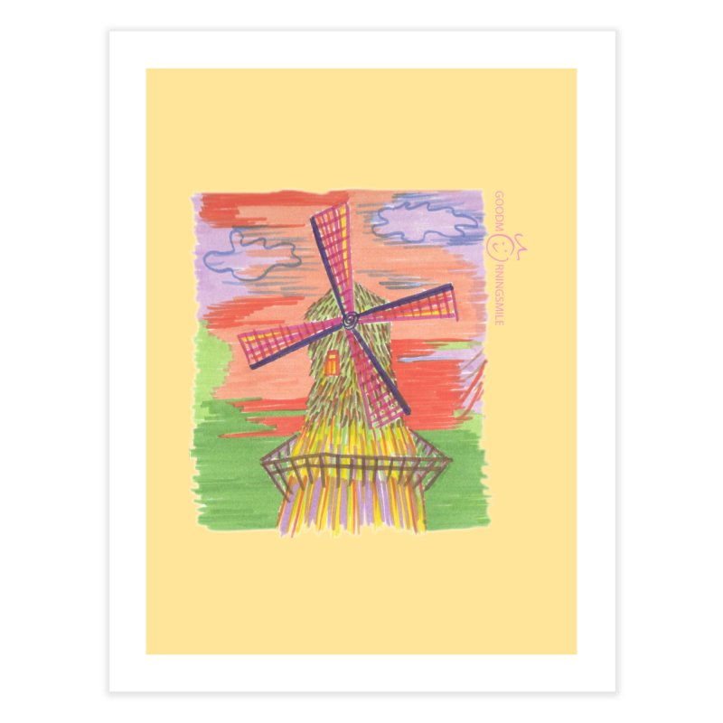 Amsterdam Home Fine Art Print by Good Morning Smile