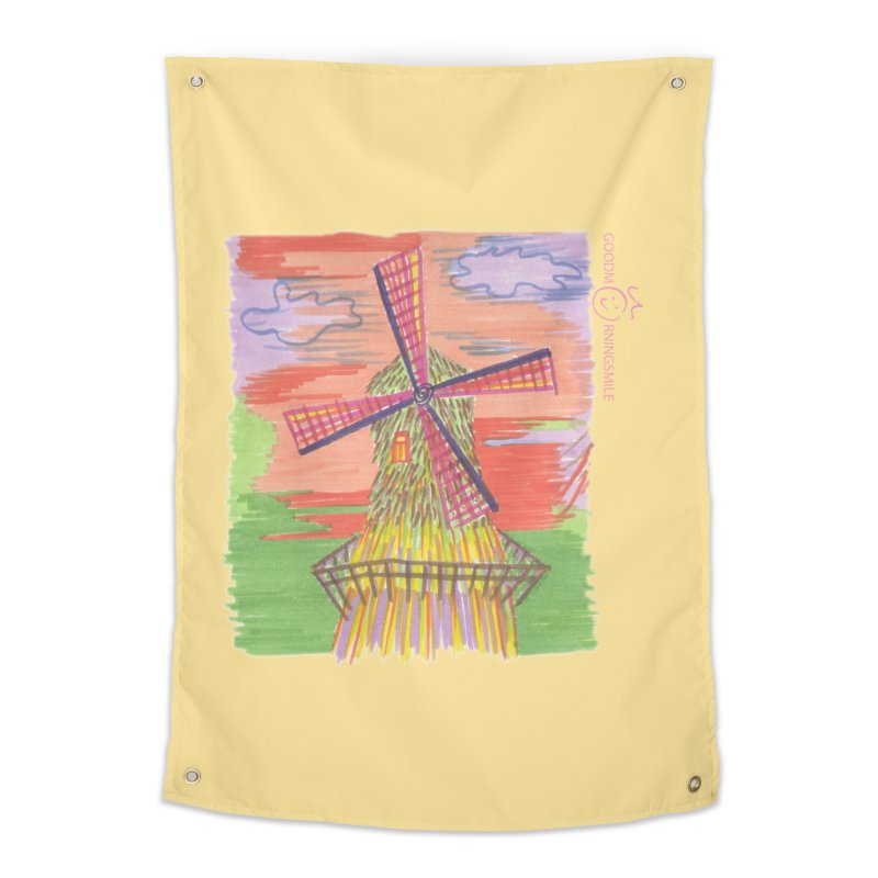 Amsterdam Home Tapestry by Good Morning Smile