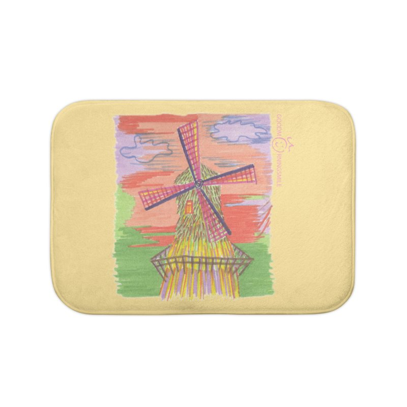 Amsterdam Home Bath Mat by Good Morning Smile