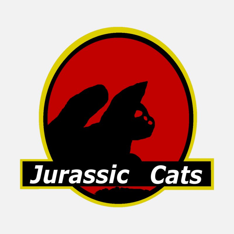Jurassic Cats None  by Roe's Shop