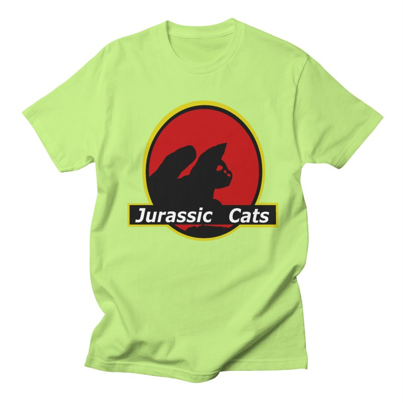 Jurassic Cats Men's T-Shirt by Roe's Shop