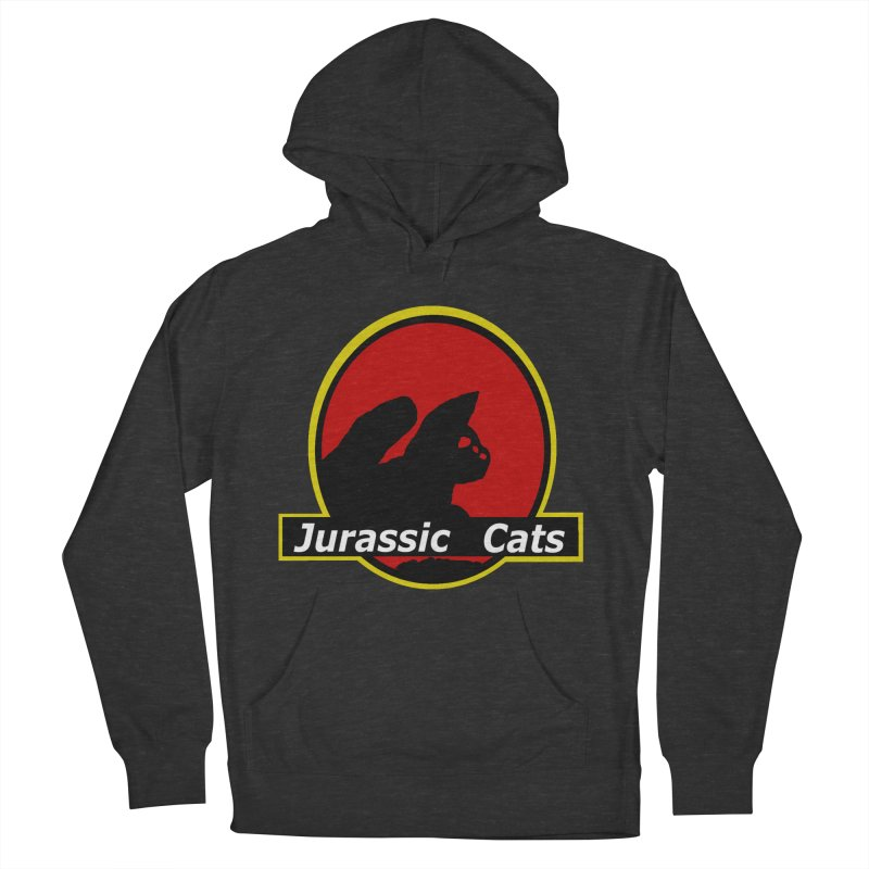 Jurassic Cats Women's French Terry Pullover Hoody by Roe's Shop