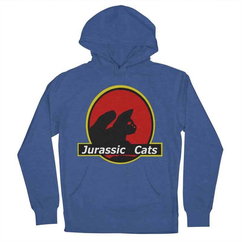 Jurassic Cats Women's Pullover Hoody by Roe's Shop