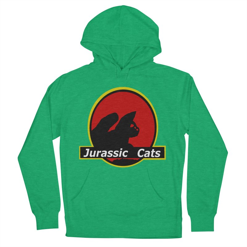 Jurassic Cats Men's Pullover Hoody by Roe's Shop