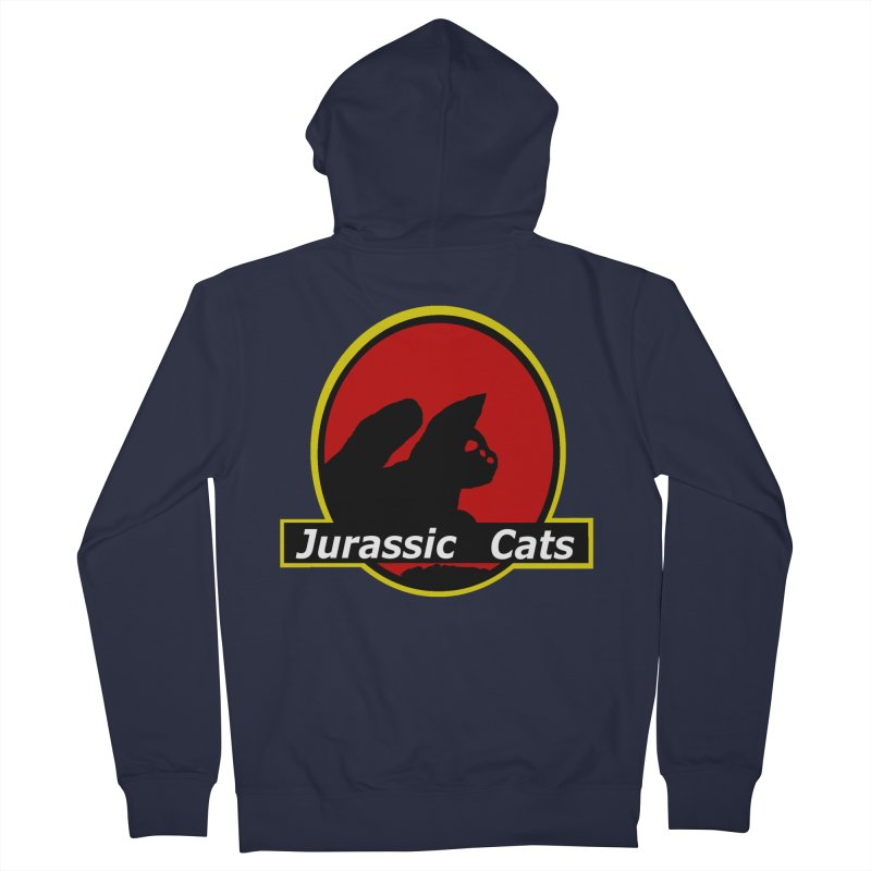 Jurassic Cats Women's Zip-Up Hoody by Roe's Shop